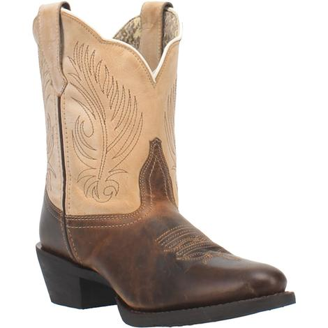 Laredo Brown and Tan Women's Boots