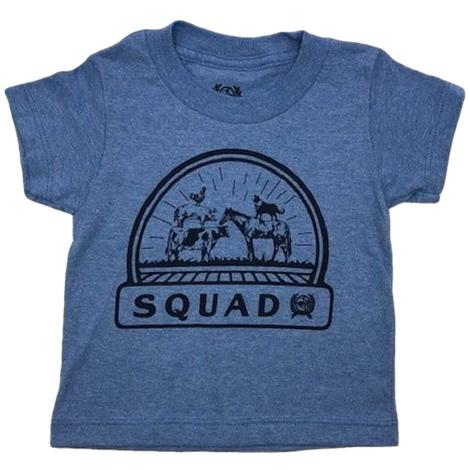 Cinch Short Sleeve Blue Squad Toddler Tee