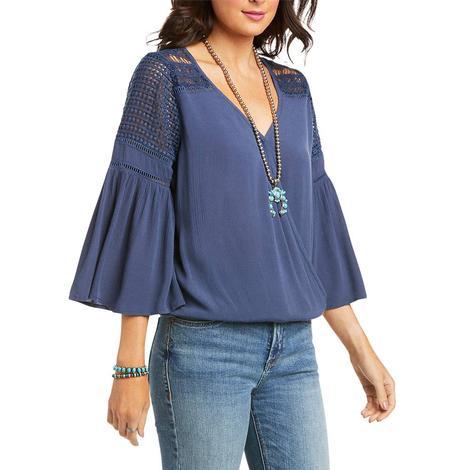 Ariat Brunchin Blue Lace Women's Tunic