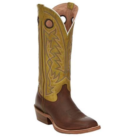 Tony Lama Fairview Umber Brown Buckaroo Women's Boots