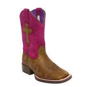 Ariat Kids' Crossroads Fuchsia Cross Boots