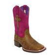 Ariat Kids ' Crossroads Fuchsia Cross Boots