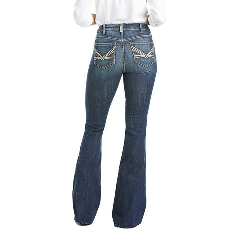 Ariat REAL High Rise Laila Flare Women's Jeans