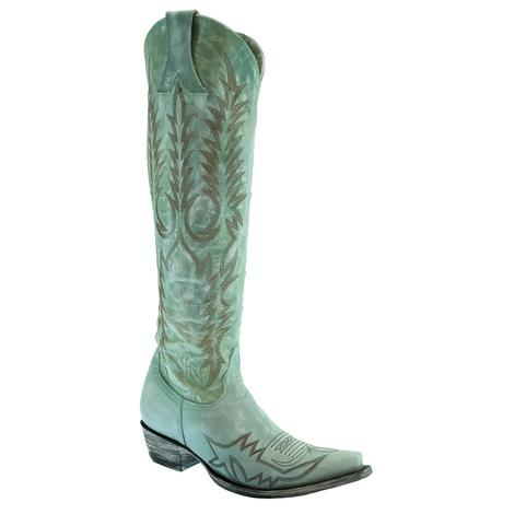 Old Gringo Turquoise Mayra Bis Women's Tall Top Boots