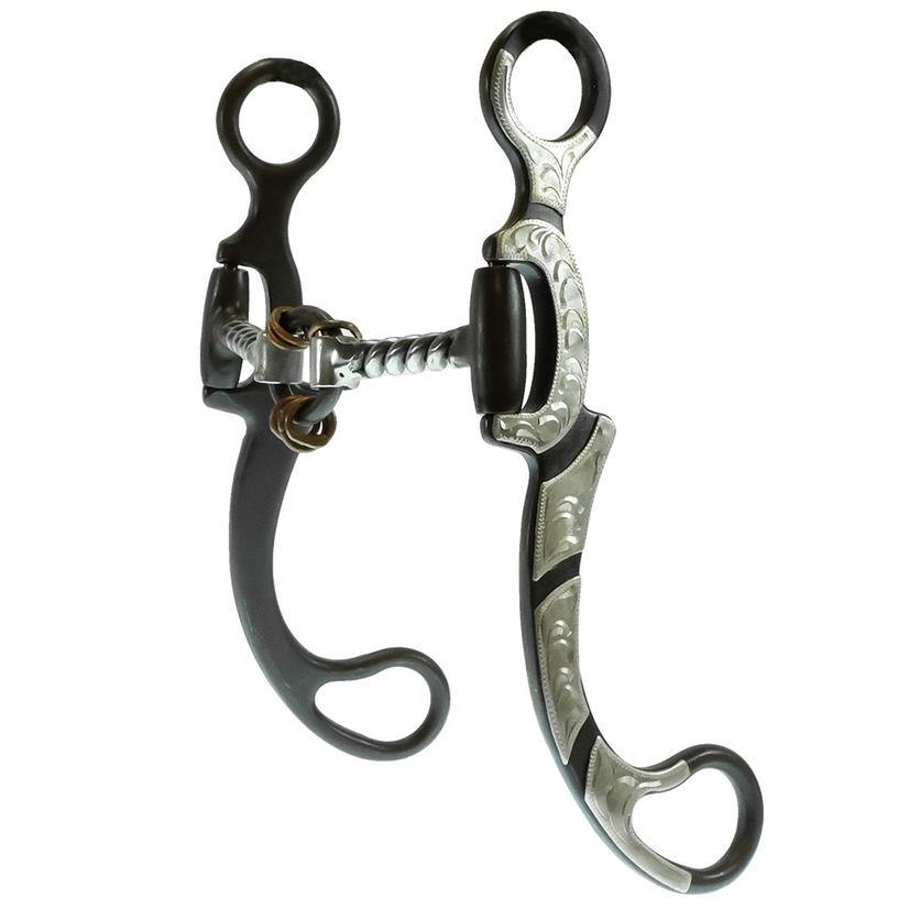American Heritage Equine Silver Mounted Twisted Lifesaver Bit