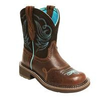 Ariat Fatbaby Heritage Dapper Brown Turq Ladies Boots