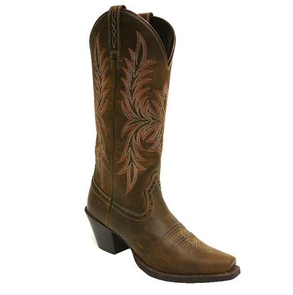 Ariat Round Up Maddox Distressed Brown Ladies Boot