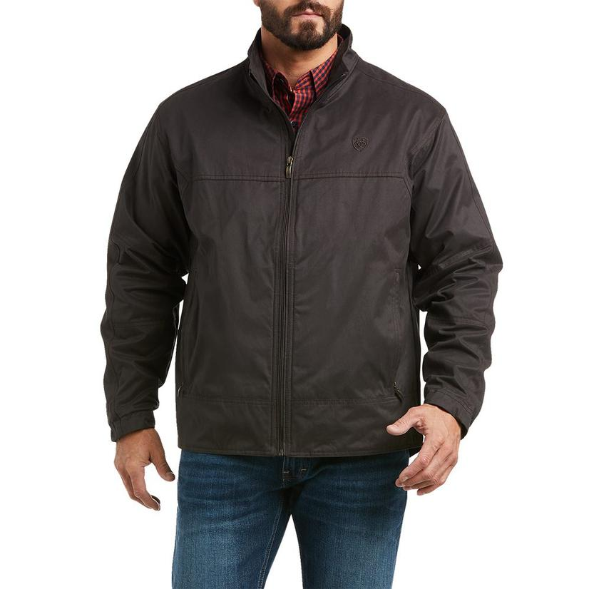 Ariat Grizzly Canvas Lightweight Expresso Men's Jacket