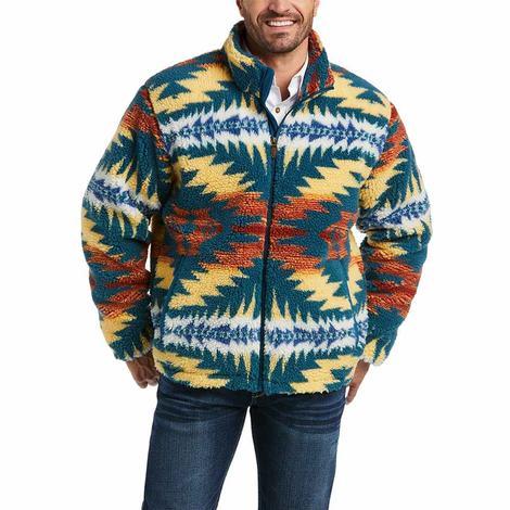 Ariat Pendleton Aztec Print Fleece Men's Jacket