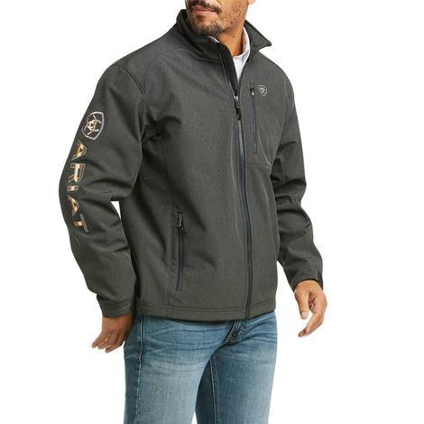 Ariat Pendleton Logo Softshell Charcoal Men's Jacket