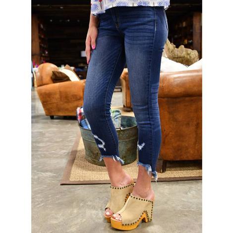 Ladies Kancan Crop Jean