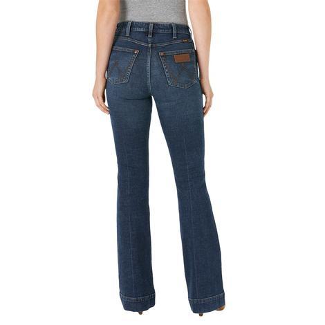 Wrangler Retro High Rise 5 Pocket Trouser