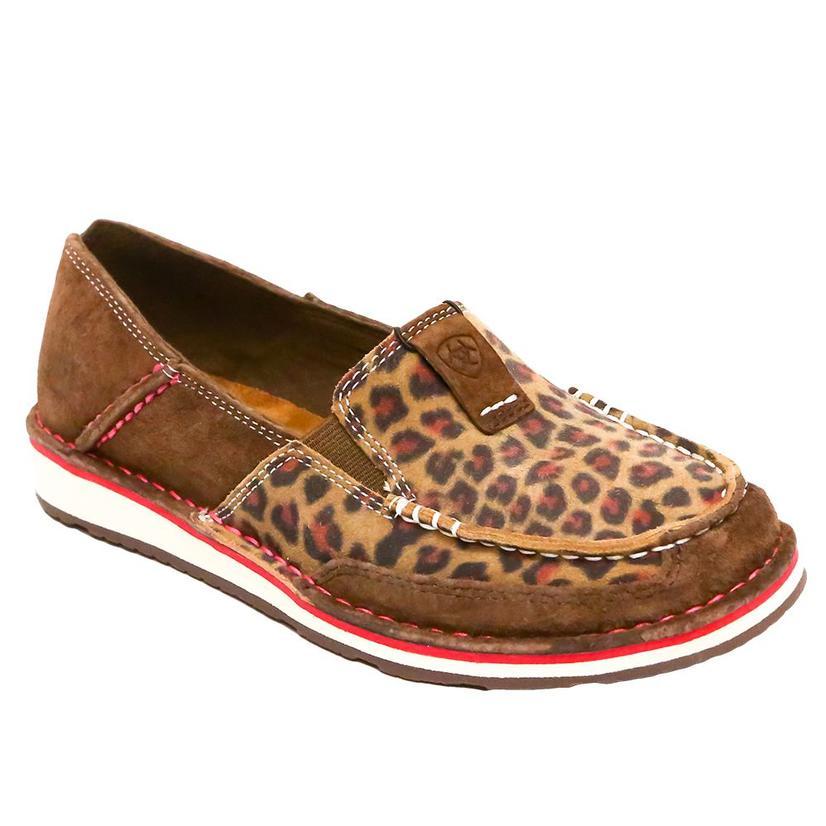 Ariat Leopard Print Ladies Cruiser Slip On Shoe