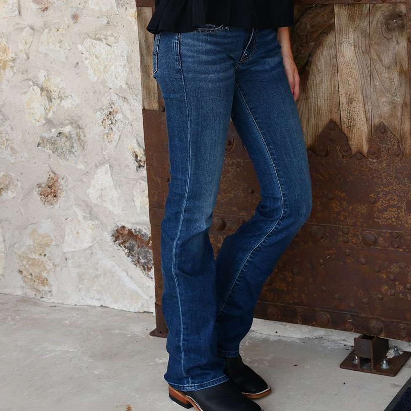 Ladies 7famk Bootcut Jean