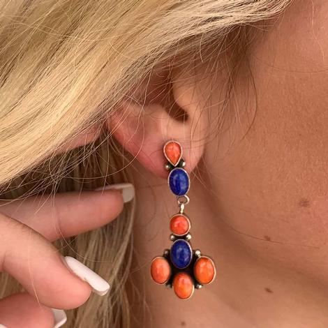 Spiny Oyster Earring
