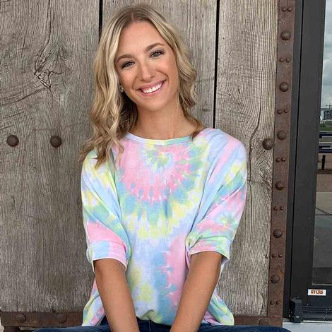 Andree By Unit Tie Dye Top