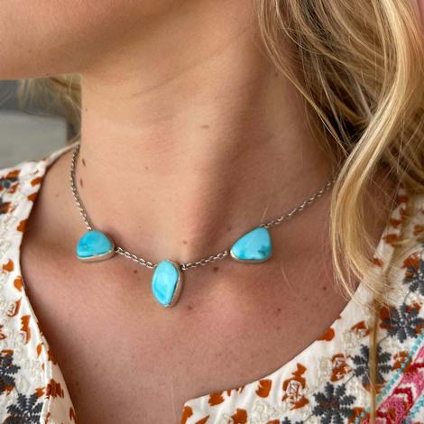 Love Token Turquoise Necklace
