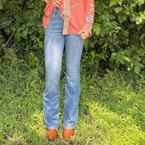 Ladies Hidden Flare Jeans