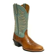 Ariat Legend Legacy Gingersnap and Sky Blue Ladies Boot