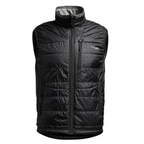 Sitka Black Kelvin Aerolite Men's Vest