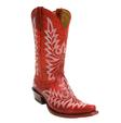Ariat Brooklyn Revel Red Ladies Snip Toe Boot