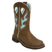 Ariat Fatbaby Heritage Tall Taosted Brown Turquoise Ladies Boot