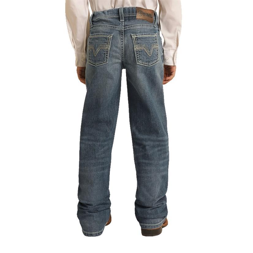 Rock And Roll Cowboy Medium Vintage Bootcut Boy's Jeans
