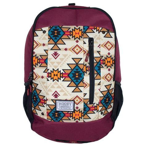 Hooey Rockstar Burgundy Backpack