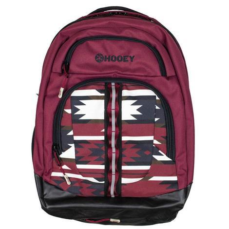 Hooey Burgundy Ox Backpack