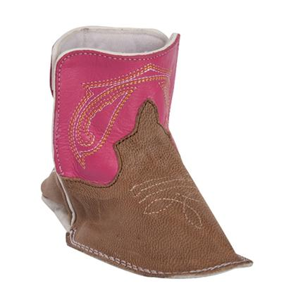Anderson Bean Pink Baby Beans Square Toe Boots