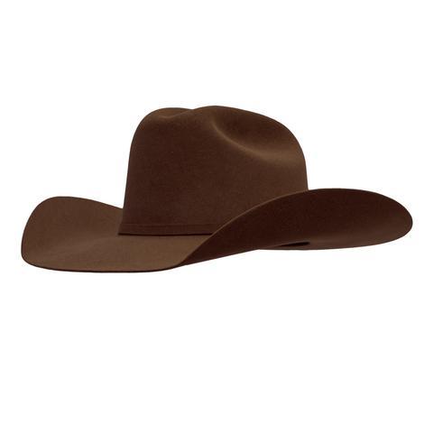 Resistol 6X 72 USTRC 4.5 Brim Chocolate Felt Hat