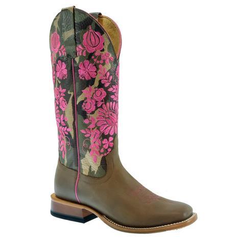 Macie Bean Floral Camo Top Women's Boots