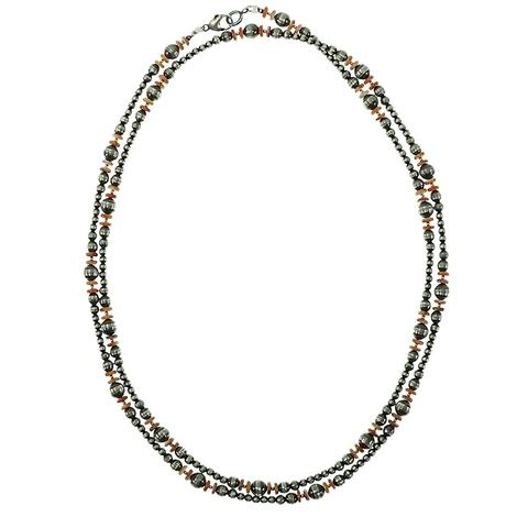 Navajo Pearl Spiny Oyster Necklace
