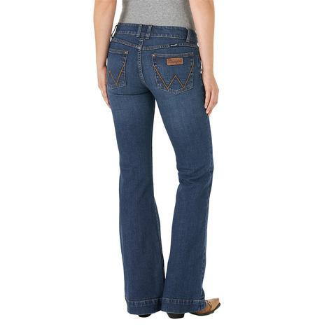 Wrangler Mae Mid Rise Women's Trouser Jeans