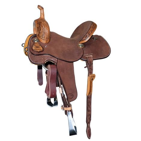 STT Quarter Sunflower Tool and Chocolate Roughout Barrel Saddle