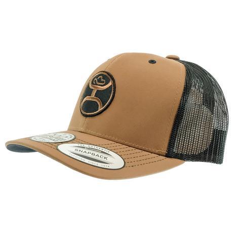 Hooey Primo Brown and Black Trucker Meshback Cap