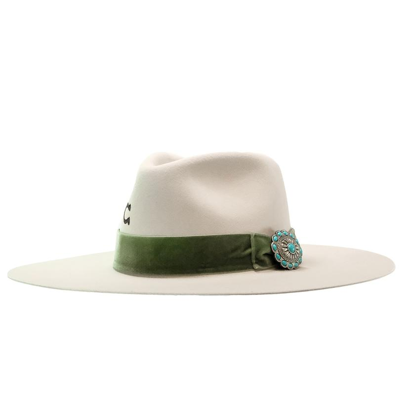 Charlie 1 Horse Shiloh Ivory Felt Hat