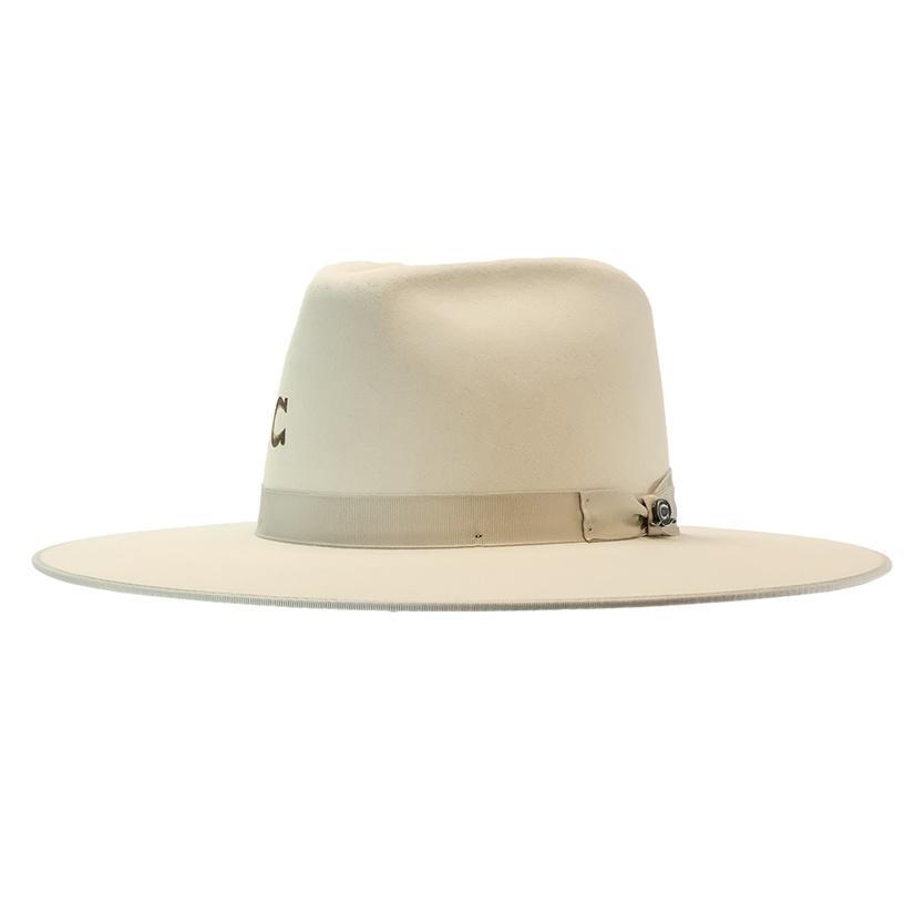 Charlie 1 Horse Desert Drifter Bone Felt Hat