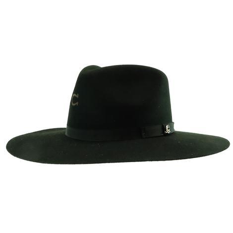 Charlie 1 Horse Highway JR Black Felt Youth Hat