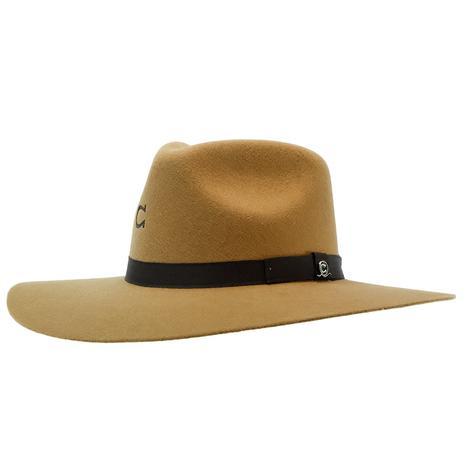 Charlie 1 Horse Camel Highway JR Felt Youth Hat