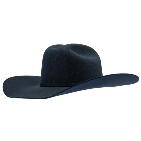 Rodeo King 7X Denim 4.25in Brim Pre-creased Felt Cowboy Hat