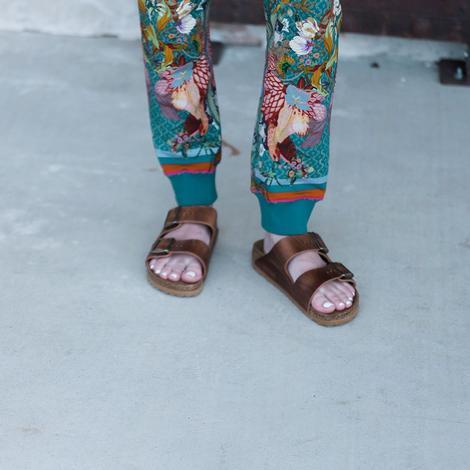 Birkenstock Women's Arizona Cognac Soft Footbed Sandal