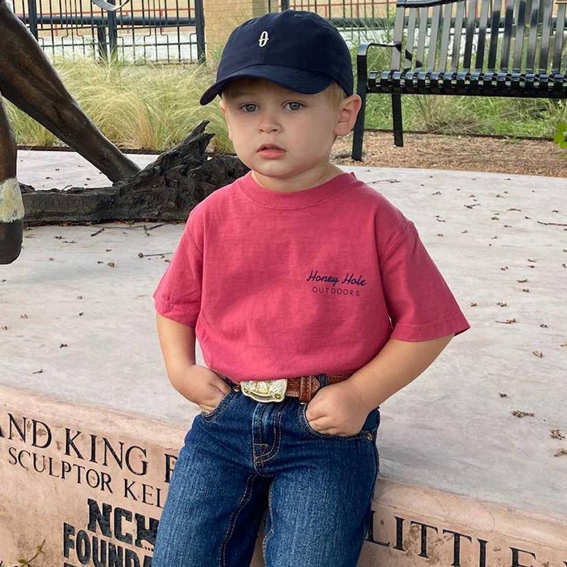 Honey Hole Boy's Oval Duck Shirt
