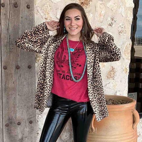 Andree by UNIT Women's Leopard Jacket