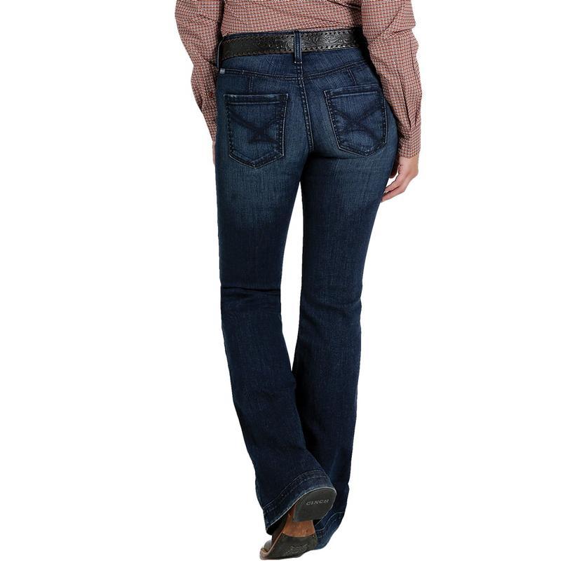 Cinch Lynden Slim Dark Wash Women's Trouser Jeans