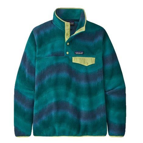 Patagonia Synchilla Aurora Dark Borealis Green Women's Fleece Pullover