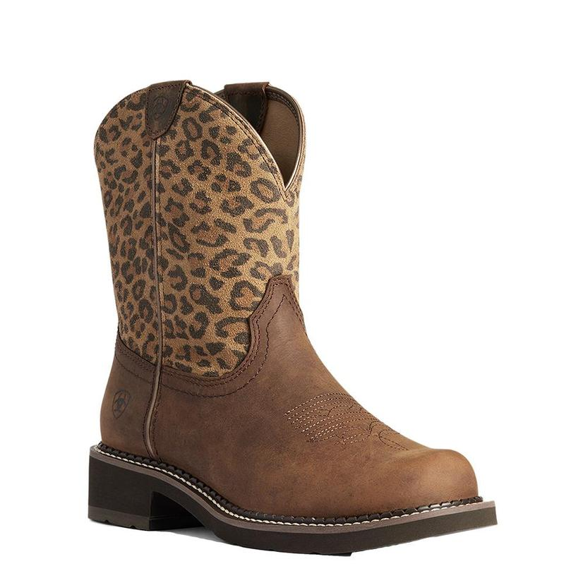 Ariat Leopard Print Fat Baby Women's Boots