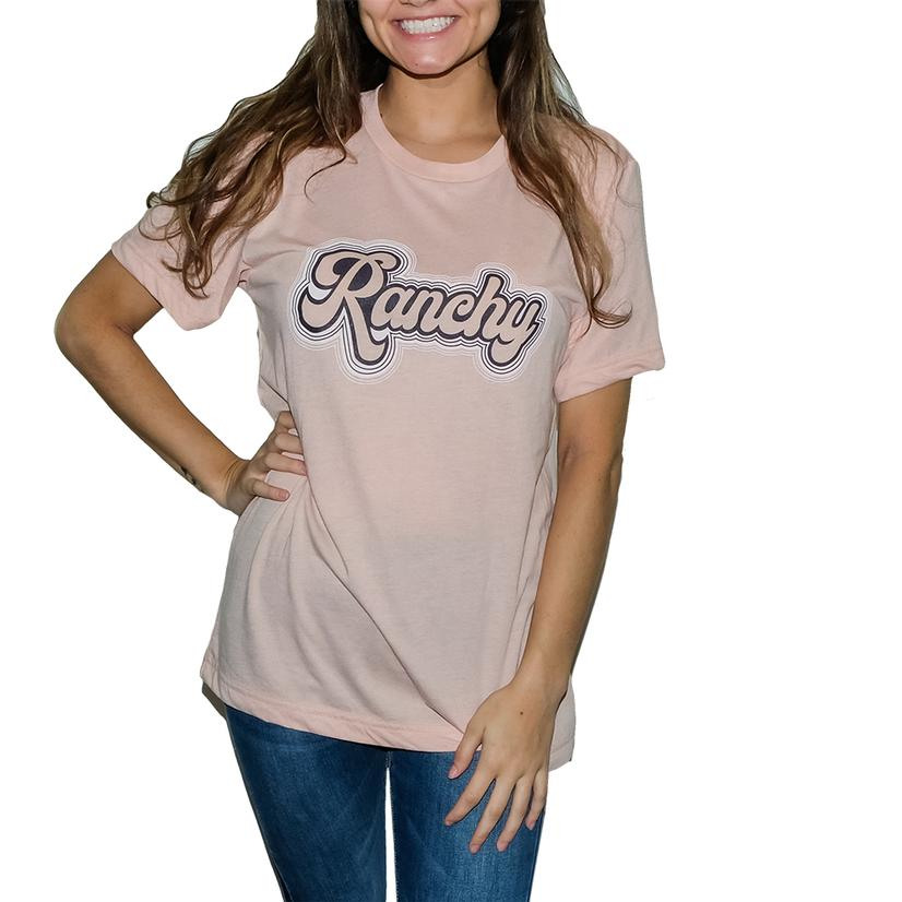 Ranchy Remix Peachy Women's Tee