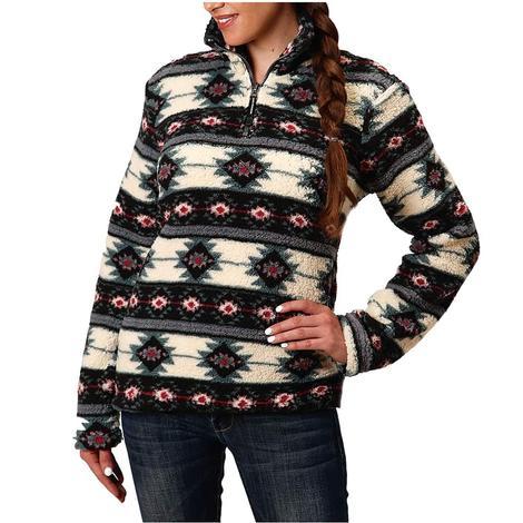Roper Aztec Polar Fleece Women's Pullover