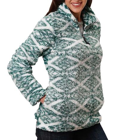 Roper Green Polar Fleece Women's Pullover